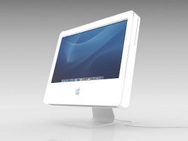 Apple iMac 3d preview