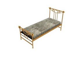 Children Metal Bed 3d model preview
