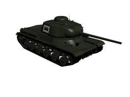 Universal tank 3d model preview
