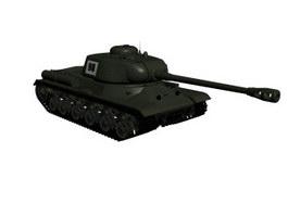 Infantry tanks 3d model preview