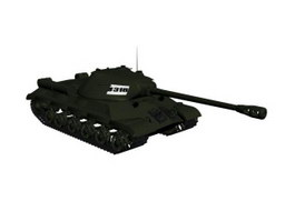 Light tank 3d preview