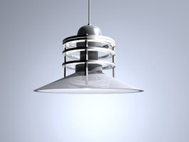 Ceiling hanging lamp 3d model preview