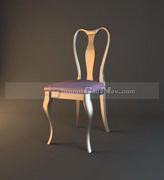 Tiffany Wedding Chair 3d rendering