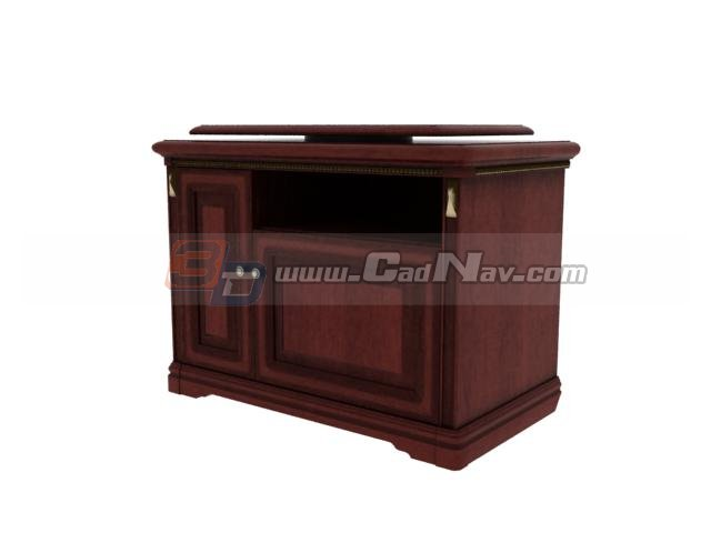 Furniture TV Cabinet 3d rendering
