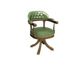 European antique chair 3d preview