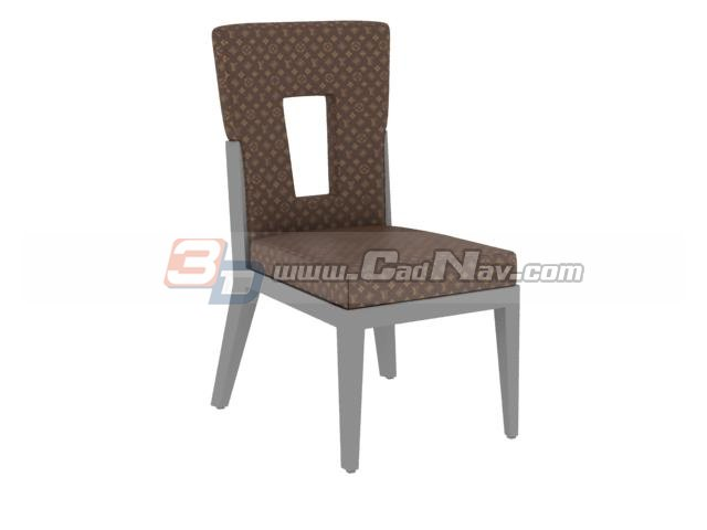 Dining Room Sheraton chair 3d rendering