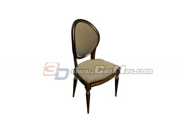 Chiavari chair for wedding 3d rendering