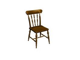 Wood Chiavari Chair 3d preview