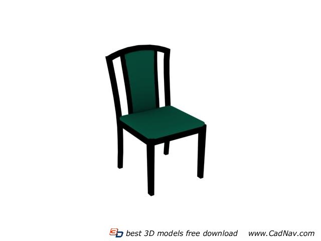 Restaurant Furniture Sheraton Chair 3d rendering