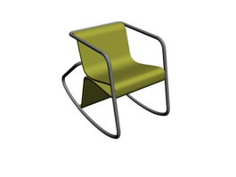 Leisure Rocking chair 3d preview