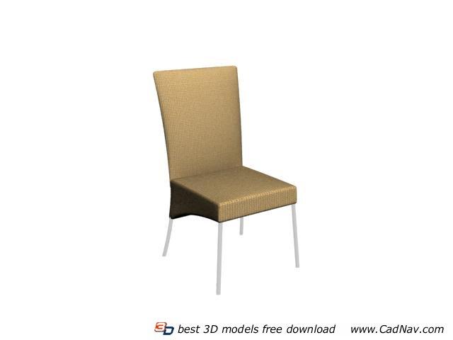 Modern Banquet Chair 3d rendering