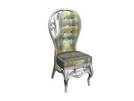 Wedding king queen chair 3d preview
