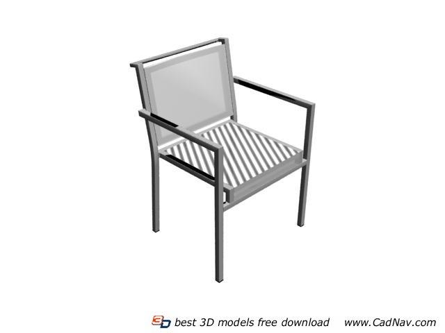 Garden Outdoor Chair 3d rendering
