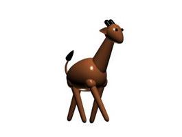 Cartoon Plastic Bath Toys Giraffe 3d preview