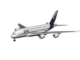 Airbus A380 3d preview