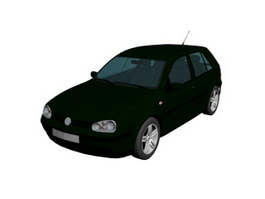 Volkswagen VW family car 3d preview