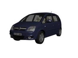Opel Antara SUV 3d model preview