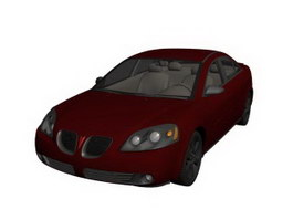Pontiac G6 3d preview