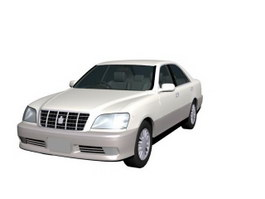 Toyota Crown Athlete 3d model preview