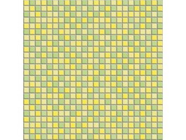 Yellow and green mosaic tile pattern texture