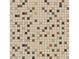Mixed ceramic mosaic pattern texture