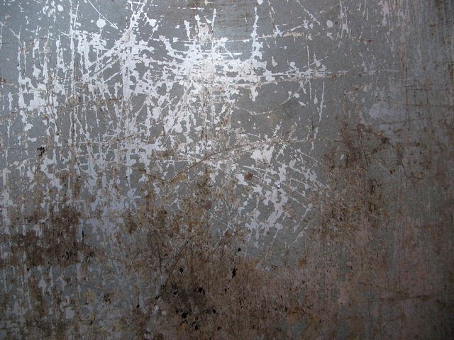 Painted metal with rust and scratches texture