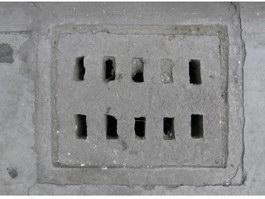 Concrete Manhole Cover texture