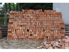 Fire clay brick texture
