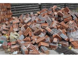 Fire clay wall brick texture