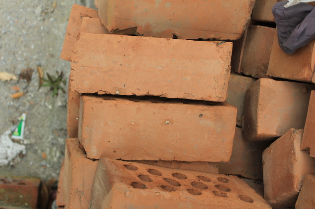 Fire-clay brick texture