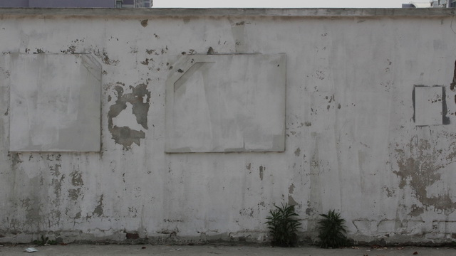 Dirty Stain of the whitewashed wall texture