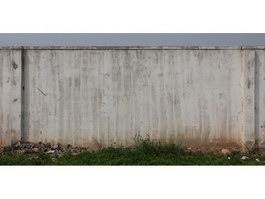 Cement pile wall texture