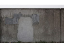 Cement repaired wall texture
