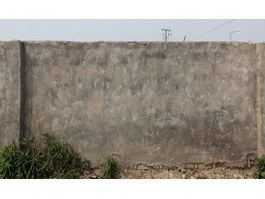 Peeling off cement brick wall texture