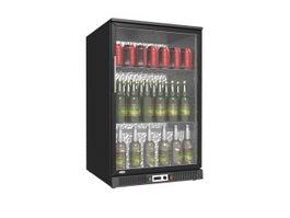 Mini Showcase Upright Freezer 3d preview
