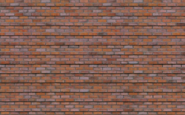 Seamless Patterns of Red Brick Walls texture