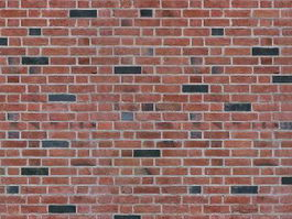 Red and grey brick wall seamlessly pattern texture