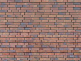 Seamlessly composable red brick background texture