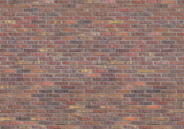 Old brick wall seamless pattern texture