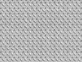 Foamed plastic material texture