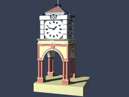 Bell tower 3d preview