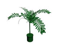 Artificial bonsai tree 3d model preview