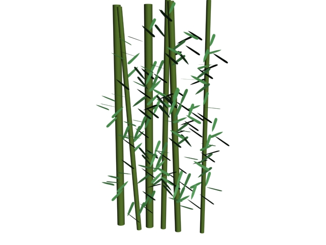 House plant bamboo palm tree 3d model 3ds max files free ...
