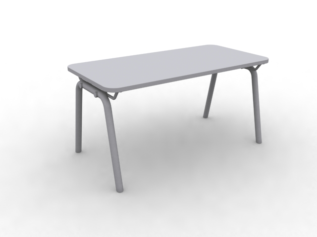 Small side table 3d rendering