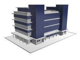 State Office Building 3d preview