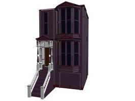 Apartment unit 3d model preview