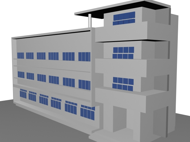 Teaching and Learning Building 3d rendering