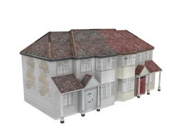 Apartment cottage house 3d preview