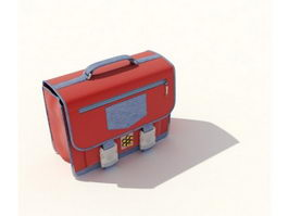 Beauty cosmetic handbag 3d preview