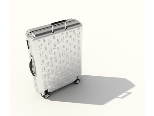 Business luggage 3d rendering